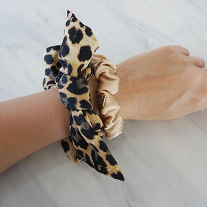 Hair Scrunchies-set of 2 (100% Silk)