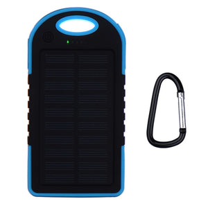 Power Bank com painel solar