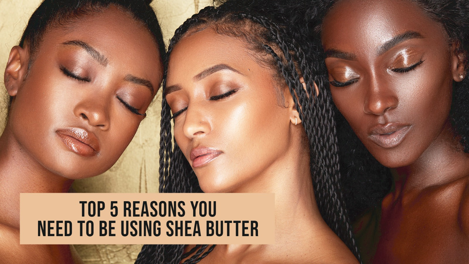 The Top 5 Reason You Should Be Using 100% African Imported Organic Shea Butter