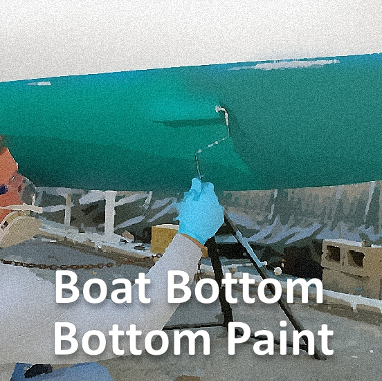 Boat Bottom, Running Gear, Buoy Paint & Primer