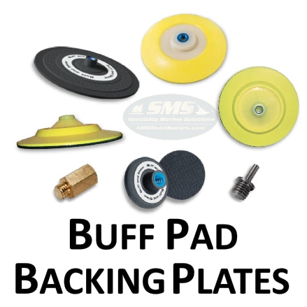 Buff Pad Backing Plates and Adapters