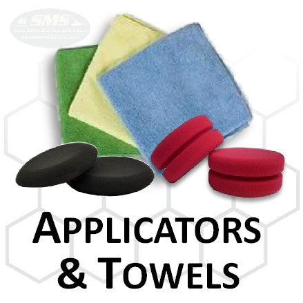 Buff and Shine Collection Applicator and Towels