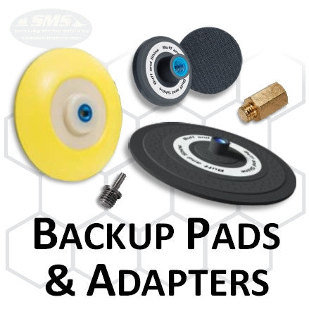Buff and Shine Backup Pad & Adapters Collection