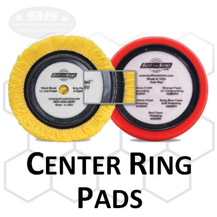 Buff and Shine Center Ring Buff Pad Collection