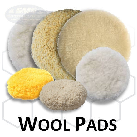 Buff and Shine Wool Buff Pad Collection