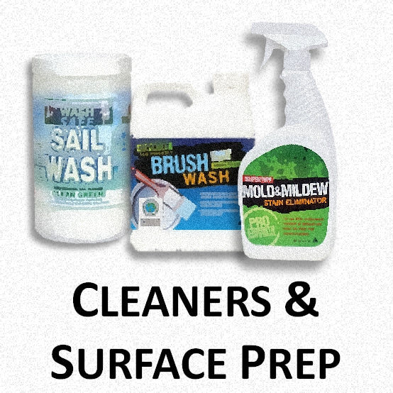 Cleaners & Surface Prep Materials