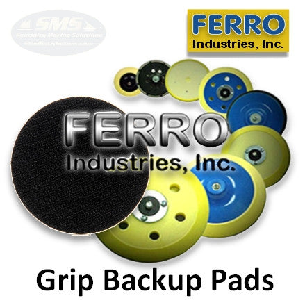 Ferro Grip (Velcro) Face Backup Pads & Accessories
