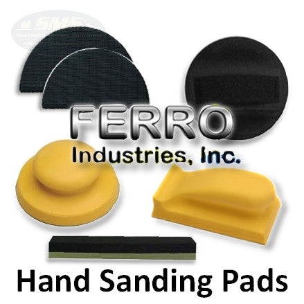 Ferro Hand Sanding Pad and Block Collection