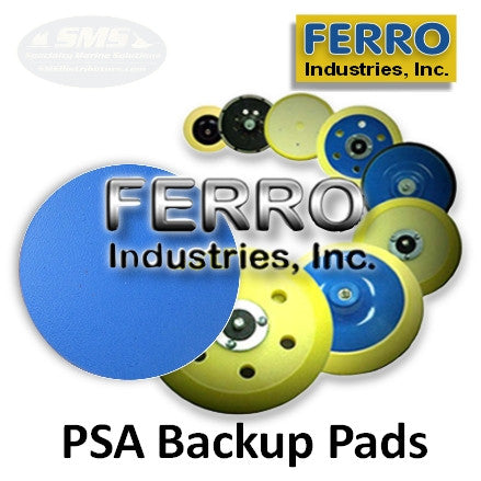Ferro Vinyl-Face Backup Pads for PSA (Sticky-back) Abrasives