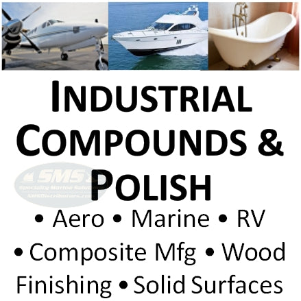 Marine, Aviation, Transport, Composite, Wood Finishing, Solid Surface Compounds & Polishes