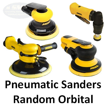 Mirka Pneumatic Random Orbital Sander Collection