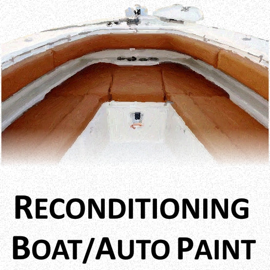 Boat and Automotive Reconditioning Paints, Primers and Repair Compounds