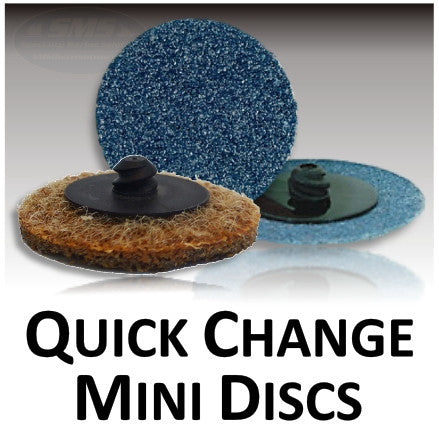 Quick Change Locking Mini Abrasive Discs