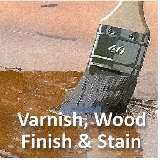 Varnish, Finish, Stain & Sealer