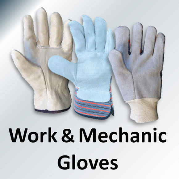 WORK & MECHANIC GLOVE COLLECTION
