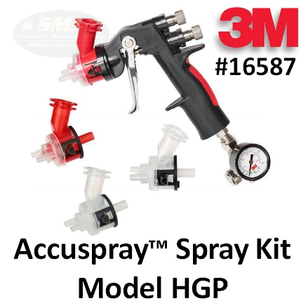 3M Accuspray Spray Gun Kit HGP, 16587