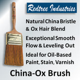 Redtree Industries China-Ox Brush