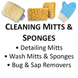 Cleaning Mitts, Wash Mitts & Sponges, Bug & Sap Removers