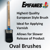 Epifanes Premium Oval Brushes