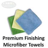 Premium Micorfiber Finishing Towel Wipes