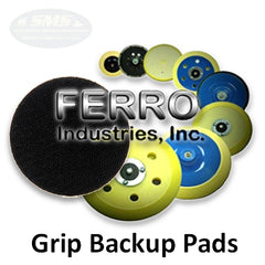 Ferro Grip Back Up Pads for Velcro-back Abrasives