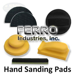 Ferro Hand Sanding Pads and Hand Blocks