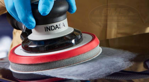 Sanding with Indasa Interface Pad
