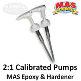 MAS Epoxies 2:1 Calibrated Pumps