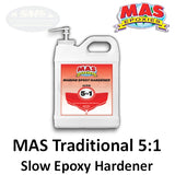 MAS Epoxies 5:1 Traditional Marine Slow Epoxy Hardener