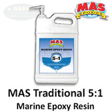 MAS Epoxies 5:1 Traditional Marine Epoxy Resin