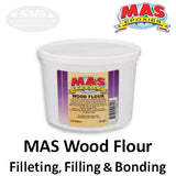 MAS Wood Flour Filler for Filleting, Filling and Bonding