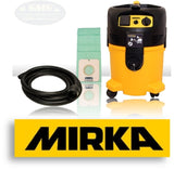 Mirka Dust Extraction and Vacuum Supplies