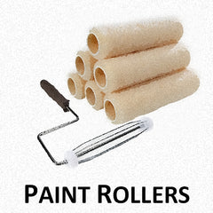 Paint Roller Covers, Cages and Trays