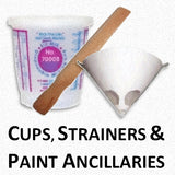Mixing Cups, Stirrers, Paint Strainers and Paint Ancillaries