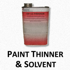 Paint Thinner and Solvents
