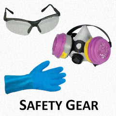 Painter's Safety Equipment - Gloves, Goggles, Masks, Suits and More