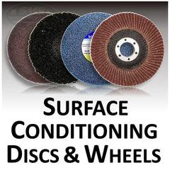 Surface Conditioning Discs and Wheels