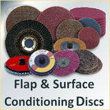 Surface Conditioning, Flap and Scuff Discs