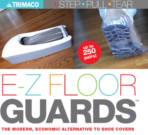 Trimaco E-Z Floor Guards Shoe Protector Kit