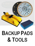 sia abrasives backup pads, blocks, tools and accessories