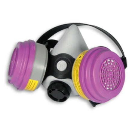SAS Safety PRO Multi-Use Respirator with P100, Acid Gas, OV Cartridges