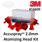 3M Accuspray Atomizing Head Refill Kit, 2.0mm, Part #16609
