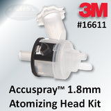 3M Accuspray Atomizing Head Refill Kit, 1.8mm, Part #16611