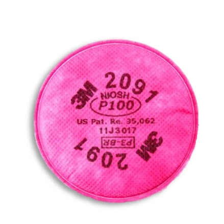 3M P100 Filters, 2091