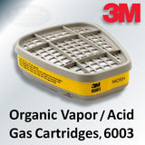 3M Organic Vapor & Acid Gas Cartridges, 6003