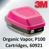 3M P100 & Organic Vapor Cartridges, 60921