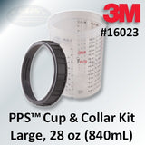 3M PPS Large Cup and Collar, 28 ounce (850 mL), 16023