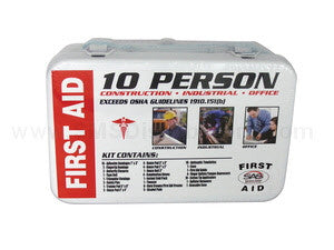 10 Person First-Aid Kit