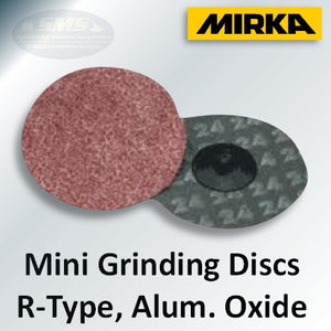 Mirka 65 Series Mini Grinding Discs, R-Type