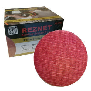 "Alpha Reznet 5"" Disc Sanding Screen Collection"